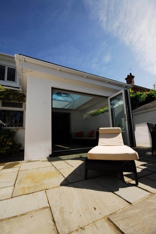 A modern luxury orangery installation