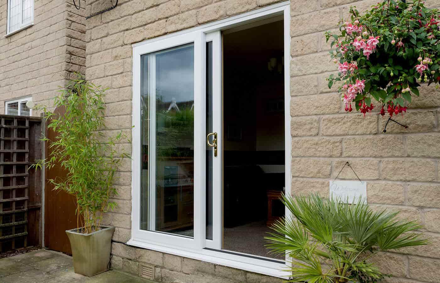 aluminium or upvc sliding patio doors in dorset | poole