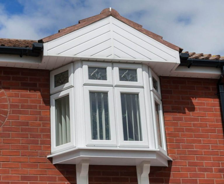 bay white casement upvc