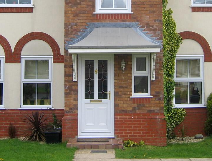 uPVC front door